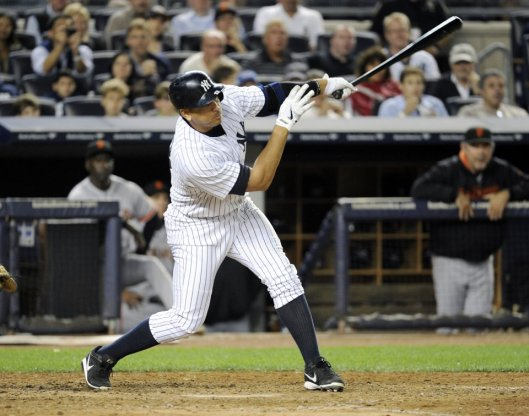 ARod Hits Record Grand Slam